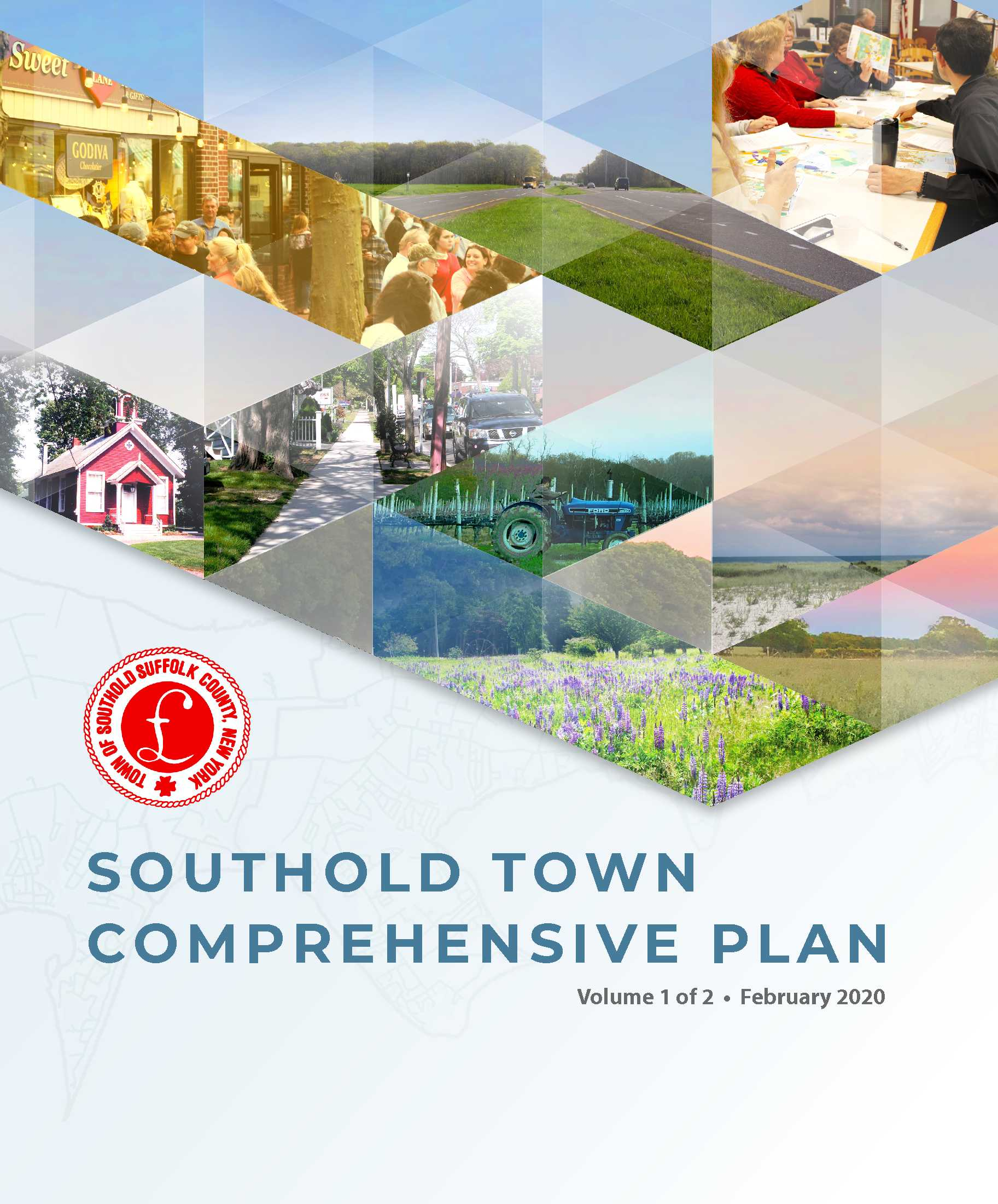 Cover Page for the Southold Town Comprehensive Plan